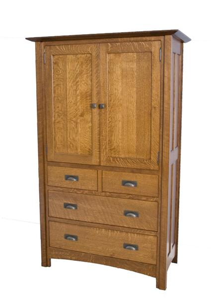 Amish Crafters Mission Armoire