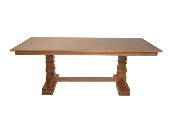 Amish Richville Double Pedestal Dining Table