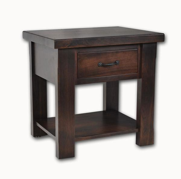 Amish Walnut Grove End Table