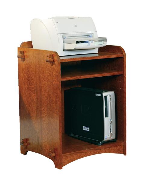 Amish Village Mission Printer/CPU Stand