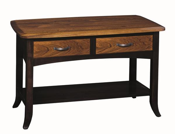 Amish Christy Sofa Table with Drawer
