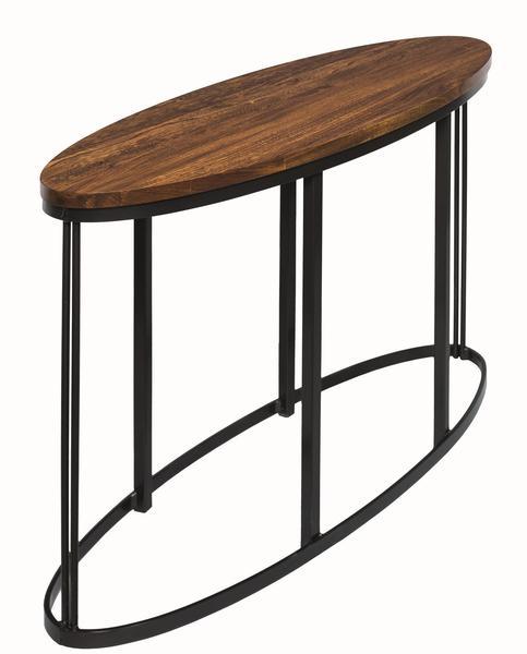 Amish Malibu Sofa Table