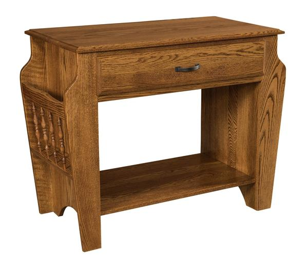 Amish Morris Library Table