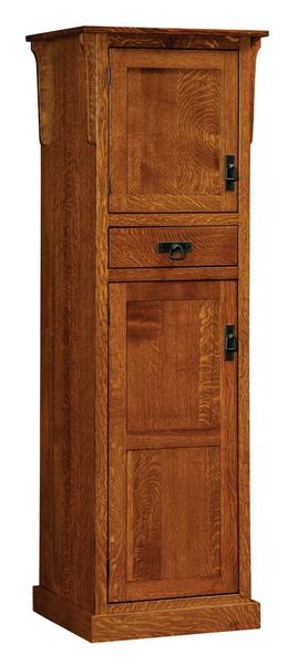 Amish Mission Two-Door Pantry