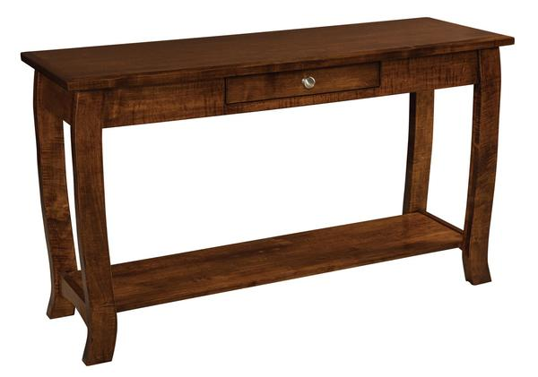 Amish Sunrise Sofa Table