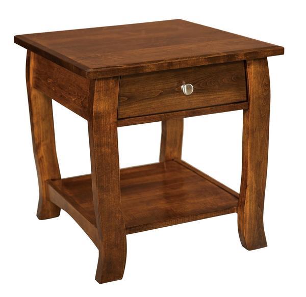 Amish Sunrise End Table