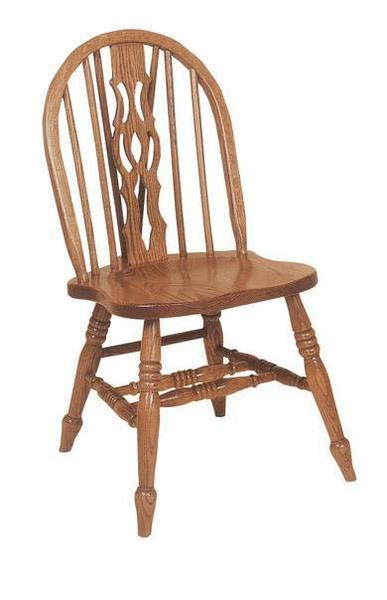 Amish Windsor Mate Low Side Chair