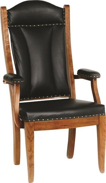 Amish Upholstered Traditional Reception Client Office Chair