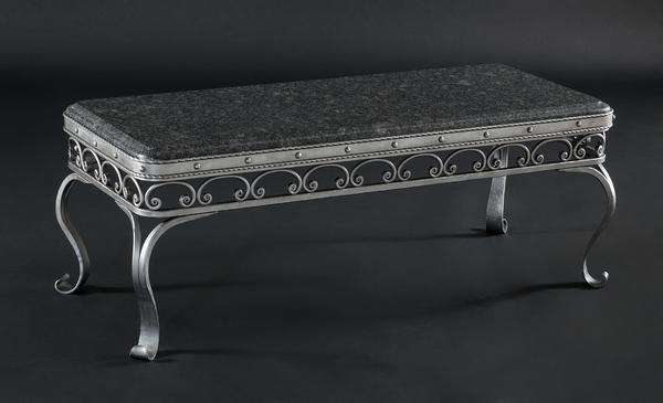 Amish Hand Forged Buckingham Iron Table