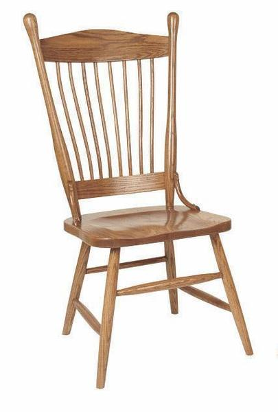 Amish Ohio Buckeye Dining Chair