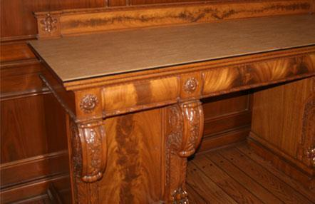 Amish Table Pad Protector for Buffet or Server