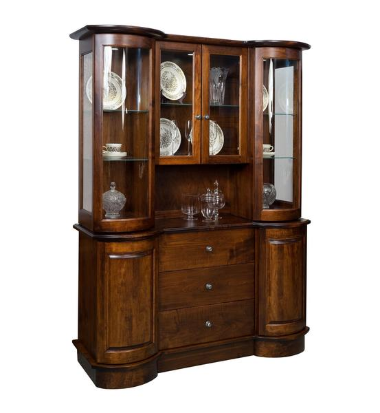 American Wyatt Sliding Door Hutch