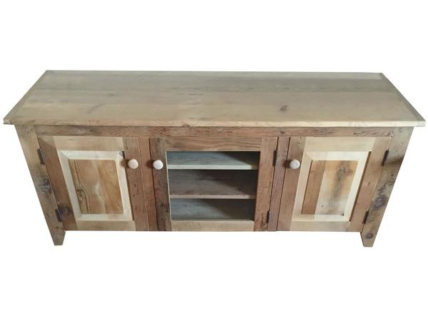 Rustic Barn Wood TV Stand
