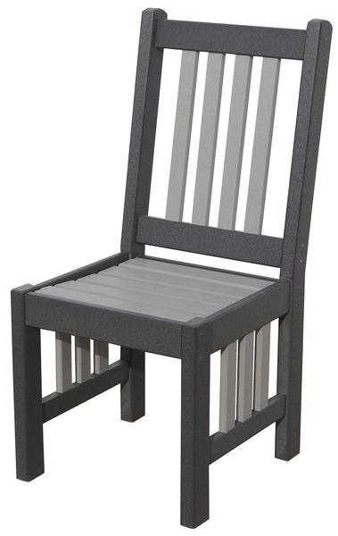 Amish Seaside 18 Inch Poly Composite Mission Dining Side Chair