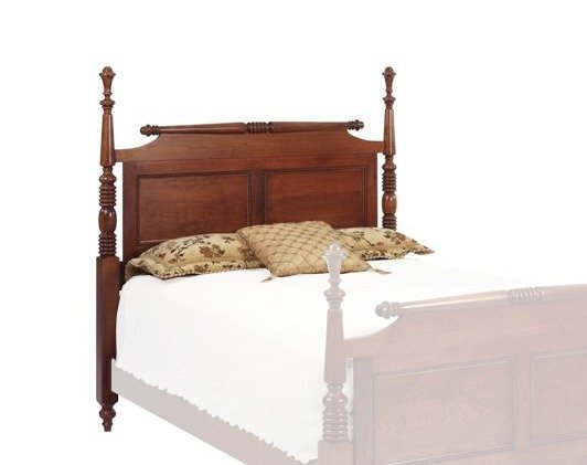 Fur Elise Rolling Pin Bed - Headboard Only