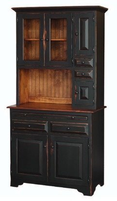 Honey Brook Medium Hoosier Cabinet  sc 1 st  DutchCrafters Amish Furniture & Pine Wood Hoosier Cabinet from DutchCrafters Amish Furniture