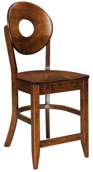 Amish Bridgeport Bar Stool