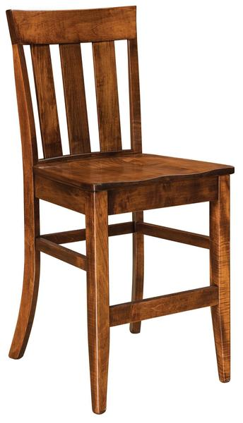 Amish Glenmont Mission Bar Stool