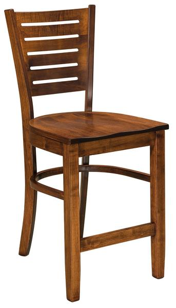 Amish Hallowell Bar Stool