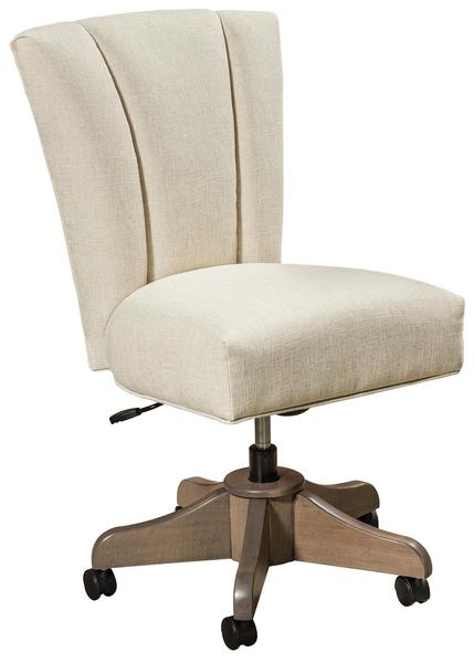 Amish Mynda Upholstered Desk Chair
