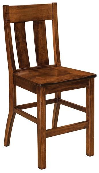 Amish Rochelle Mission Bar Stool