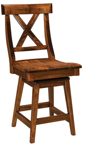 Amish Vornado Swivel Stool
