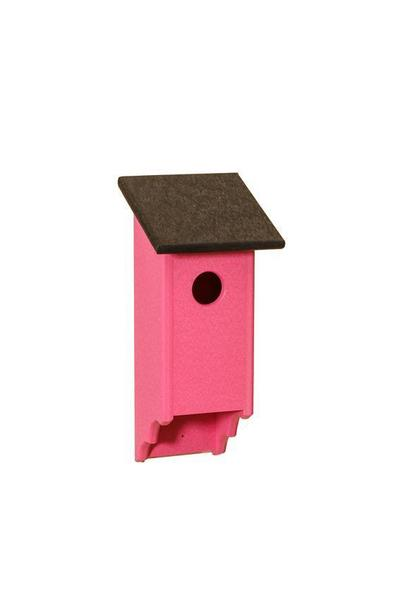 Recycled Plastic Fence Mounted Birdhouse