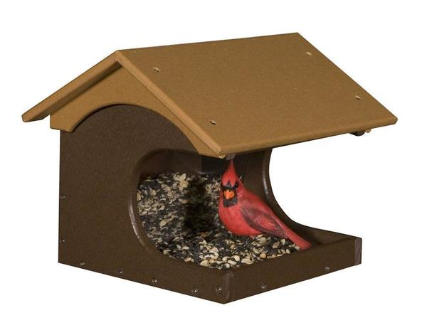 Eco Friendly Cove Side Recycled Plastic Bird Feeder