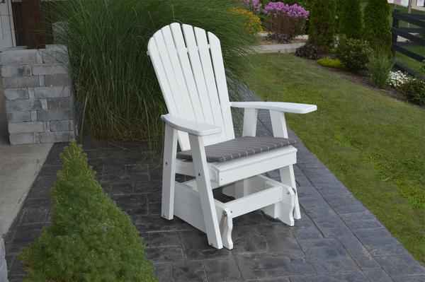 Amish Poly Adirondack Gliding Chair
