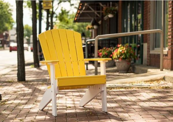 LuxCraft Lakeside Poly Adirondack Chair