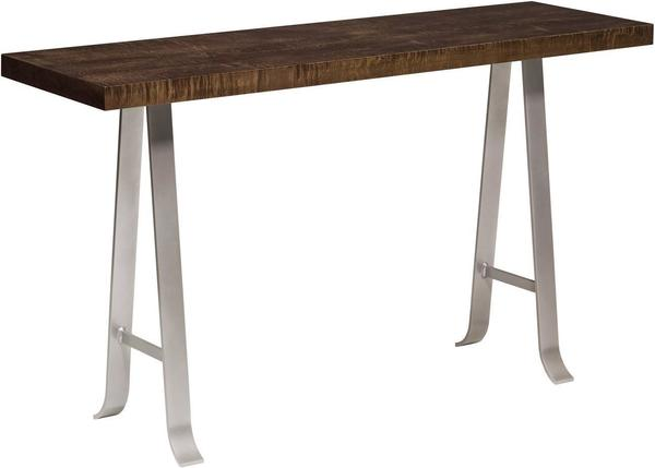 Amish Alpha Sofa Table