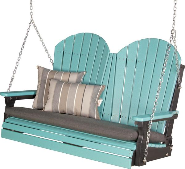 LuxCraft 4' Adirondack Poly Swing