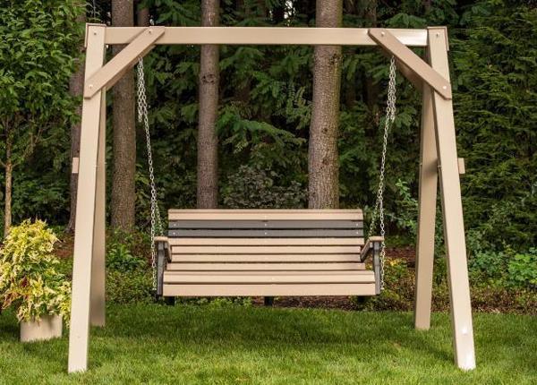 LuxCraft 4' Plain Poly Swing