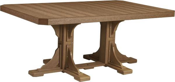 LuxCraft 4' x 6' Poly Rectangular Table