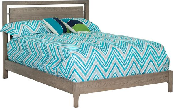 Amish South Beach Panel Bed
