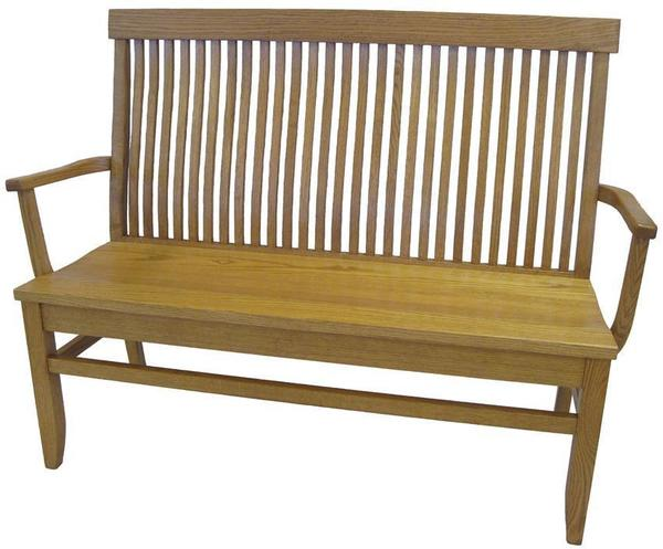 Amish Arched Back Empire Bench
