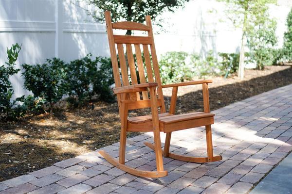 Pine Wood Classic Porch Rocker