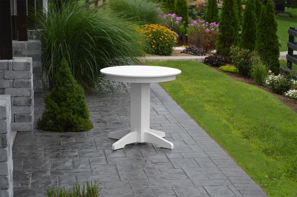 Amish Poly Round Dining Table