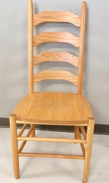 In Stock Oak Wood Shaker Ladderback Chair