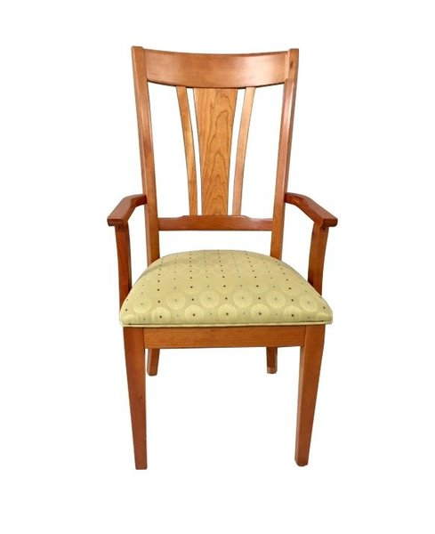In Stock Cherry Amish Metro Dining Chair