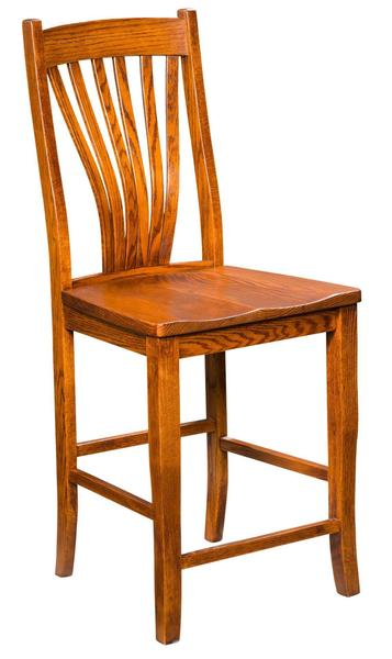 Amish Concord Transitional Bar Stool
