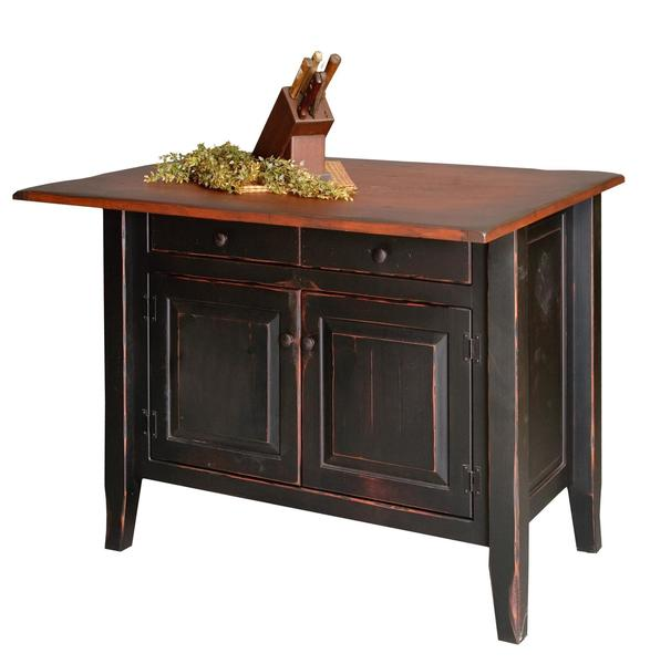 Country Pine Kitchen Island