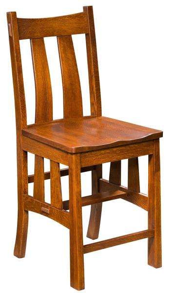 Amish Fremont Stationary Bar Stool