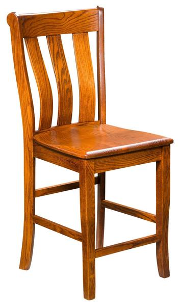 Amish Vancouver Stationary Bar Stool