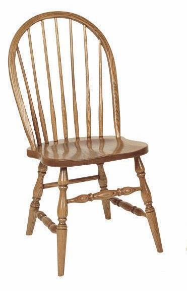 Amish Low Spindle Windsor Chair