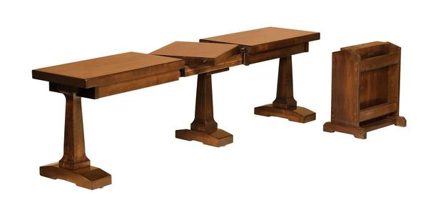 Amish Vienna Dining Extending Bench