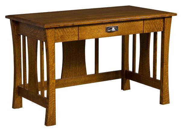 Ask Us A Question Iris Mission Style Writing Desk