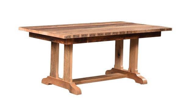 Reclaimed Wood Tower Dining Table
