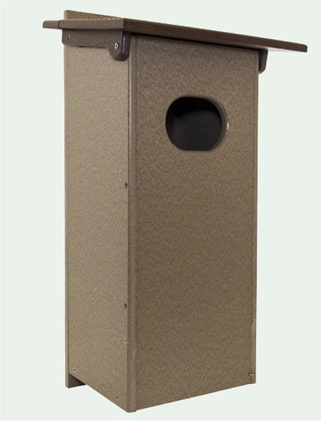 Eco Friendly Poly Duck Box Bird House