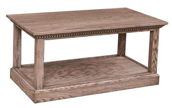 Amish Grand Manor Coffee Table
